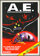 Anti-Environment Encounter Box, Front © ColecoVision.dk