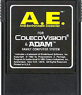 Anti-Environment Encounter Cartridge, Front © ColecoVision.dk