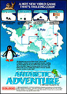 Antarctic Adventure Box, Back © ColecoVision.dk