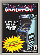 Arkanoid Box, Front © ColecoVision.dk