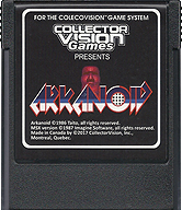 Arkanoid Cartridge, Front © ColecoVision.dk