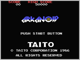 Arkanoid © ColecoVision.dk