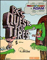 BC's Quest For Tires Box, Front © ColecoVision.dk