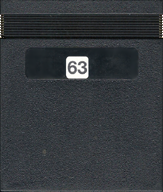 BC's Quest For Tires Cartridge, Back © ColecoVision.dk