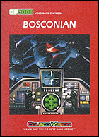 Bosconian Box, Front © ColecoVision.dk