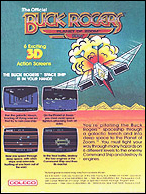 Buck Rogers Box, Back © ColecoVision.dk