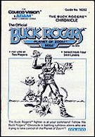 Buck Rogers Manual, Front © ColecoVision.dk