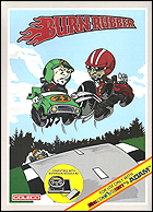 Burn Rubber Box, Front © ColecoVision.dk