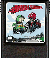 Burn Rubber Cartridge, Front © ColecoVision.dk