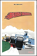 Burn Rubber Manual, Back © ColecoVision.dk