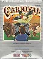 Carnival CBS Box, Front © ColecoVision.dk