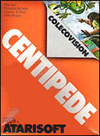 Centipede Box, Front © ColecoVision.dk