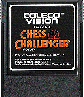 Chess Challenger Cartridge, Front © ColecoVision.dk