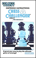 Chess Challenger Manual, Front © ColecoVision.dk