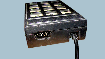 The Champ Keypad, connector for external Joystick. - ColecoVision.dk