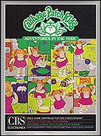 Cabbage Patch Kids CBS Box, Front © ColecoVision.dk