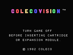 ColecoVision main screen - ColecoVision.dk