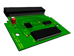 The New ColecoVision Super Game Module, REV. A.