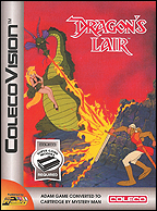 Dragon's Lair Box, Front © ColecoVision.dk