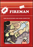 Fireman Box, Front © ColecoVision.dk