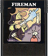 Fireman Cartridge, Front © ColecoVision.dk