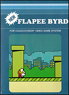 Flappy Bird Box, Front © ColecoVision.dk