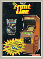 Front Line Box, Front © ColecoVision.dk