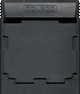 Front Line Cartridge, Back © ColecoVision.dk