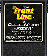 Front Line Cartridge, Front © ColecoVision.dk