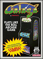 Galaga Box, Front © ColecoVision.dk