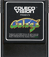 Galaga Cartridge, Front © ColecoVision.dk