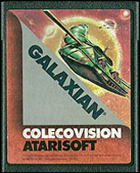 Galaxian Cartridge, Front © ColecoVision.dk