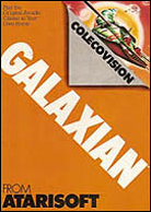 Galaxian Manual, Front © ColecoVision.dk