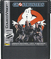 Ghostbusters Cartridge, Front © ColecoVision.dk