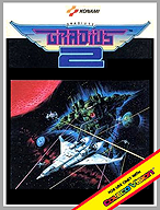 Faked Gradius 2 box by: colecovision.dk, june 2014, -do not exist for ColecoVision...