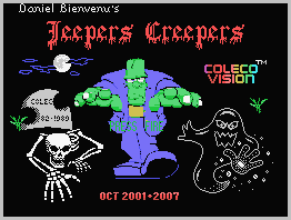 Jeepers Creepers © ColecoVision.dk