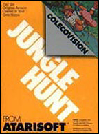 Jungle Hunt Box, Front © ColecoVision.dk