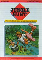 Jungle Hunt Manual, Front © ColecoVision.dk