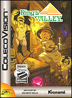 King's Valley Box, Front © ColecoVision.dk
