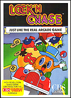 Lock 'n Chase Box, Front © ColecoVision.dk