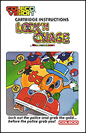 Lock 'n Chase Manual, Front © ColecoVision.dk