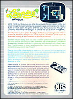 Looping CBS Box, Back © ColecoVision.dk