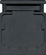 Looping CBS Cartridge, Back © ColecoVision.dk