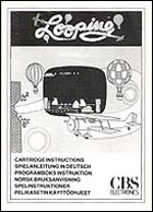 Looping CBS Manual, Front © ColecoVision.dk