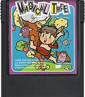 Magical Tree Cartridge, Front © ColecoVision.dk