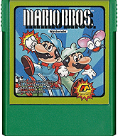 Mario Brothers Cartridge, Front © ColecoVision.dk