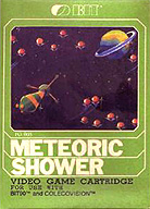 The Original Meteoric Shower Box For ColecoVision And Bit 90...