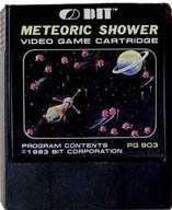 The Original Meteoric Shower Game Cartridge For ColecoVision And Bit 90...