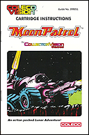 Moon Patrol Manual, Front © ColecoVision.dk