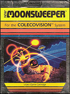 Moonsweeper Box, Front © ColecoVision.dk